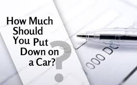 Car Down Payments - How Much Should You Put Down