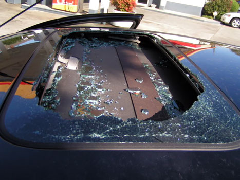 Does Car Insurance Cover Sunroof Damage?